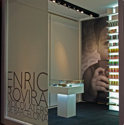 Enric Rovira is a conceptual chocolate artist based in Barcelona and does amazing things such as chocolate planetsRovira Chocolates, Shops, Barcelona 2012, Enric Rovira, Barcelona Spain