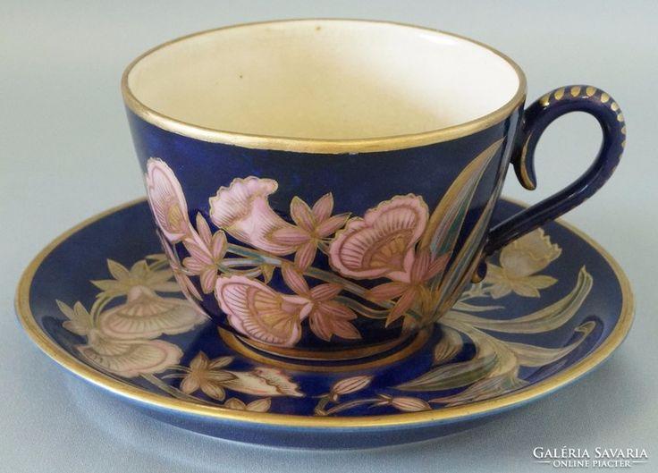 Régi Zsolnay teás csésze