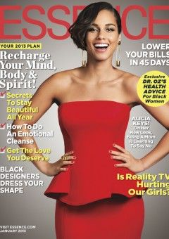 Alicia Keys Graces the January Cover of ESSENCE.