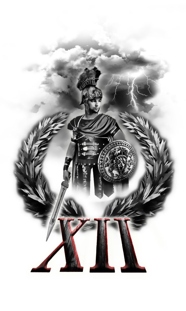 The 31 best Roman Warrior Tattoo Drawings images on ...