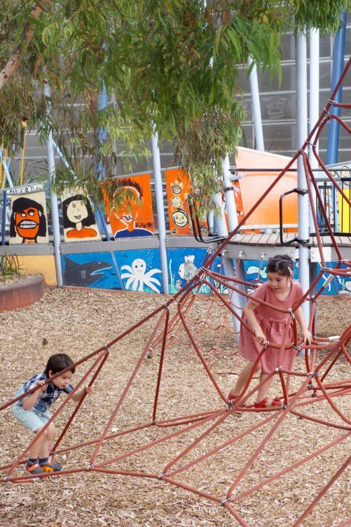 HOT: Artplay Playground, Birrarung Marr, Melbourne http://tothotornot.com/2013/08/artplay-playground/