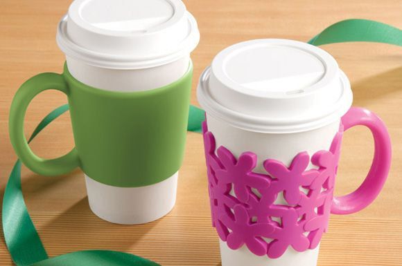 OMG, this is genius !: Memorial Sleeve, Coffee Sleeve, Crafts Ideas, Memorial Cups, Gifts Ideas, Kitchens Stuff, Life Ideas, Home Kitchens, Cutest Stuff