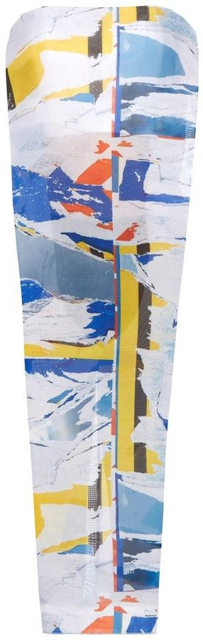DION LEE Collage-print bustier top