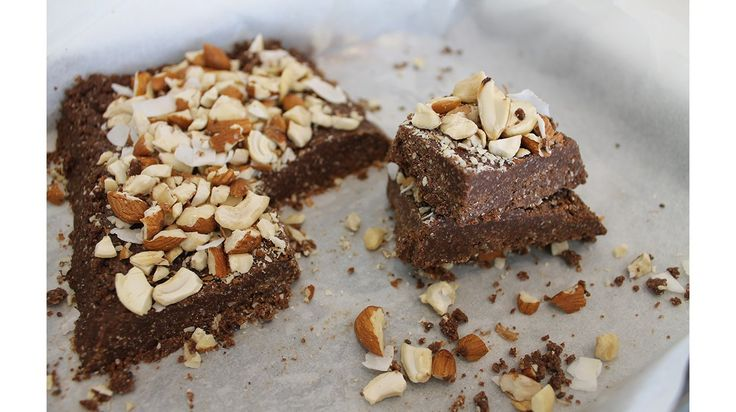 Protein & Chocolate Slice  My Day on a Plate: Rachel Wilson's daily diet | WelleCo.co.uk