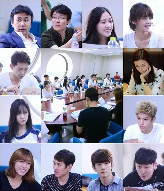 140811 - f(Krystal) at the Script Reading for ''My Lovely Girl.''
