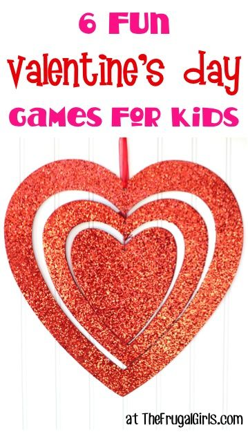 6 Fun Valentines Day Games for Kids!