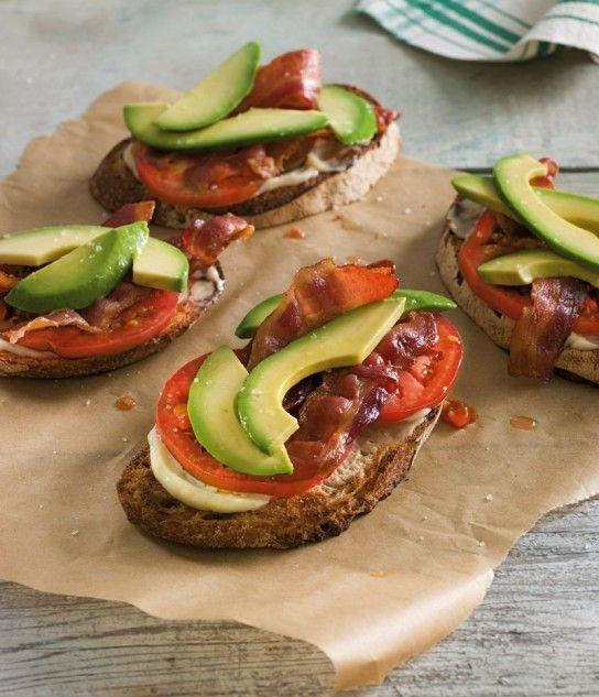is bacon. Enough said. Avocado, Bacon & Tomato Tartines: Bacon Amp ...
