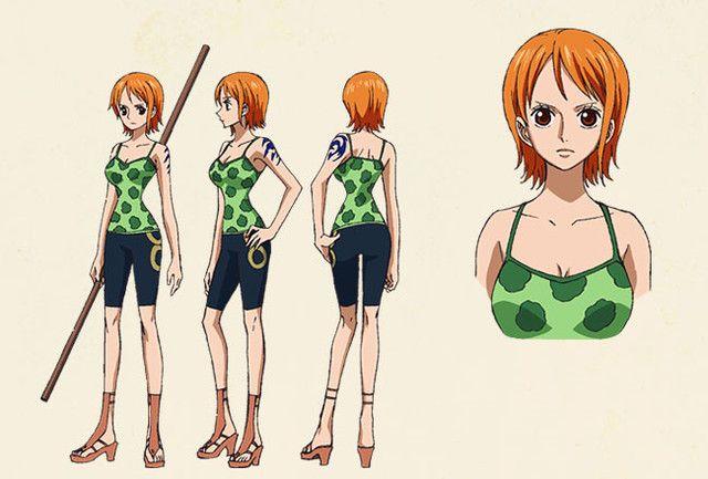 46+ Nami character information