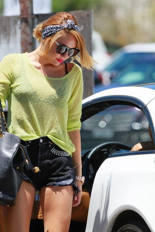 Street Style Miley Cyrus Girl Powah Pinterest