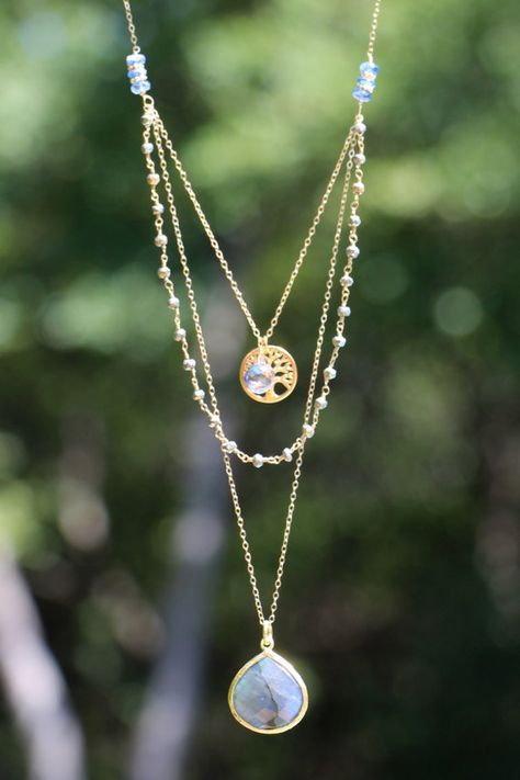 best 25 layered necklace ideas on pinterest. Black Bedroom Furniture Sets. Home Design Ideas