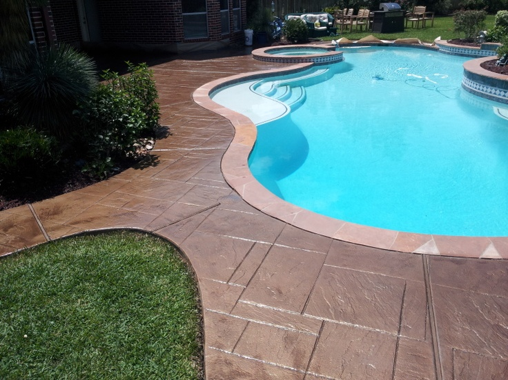 Find This Pin And More On Stamped Concrete Patio.