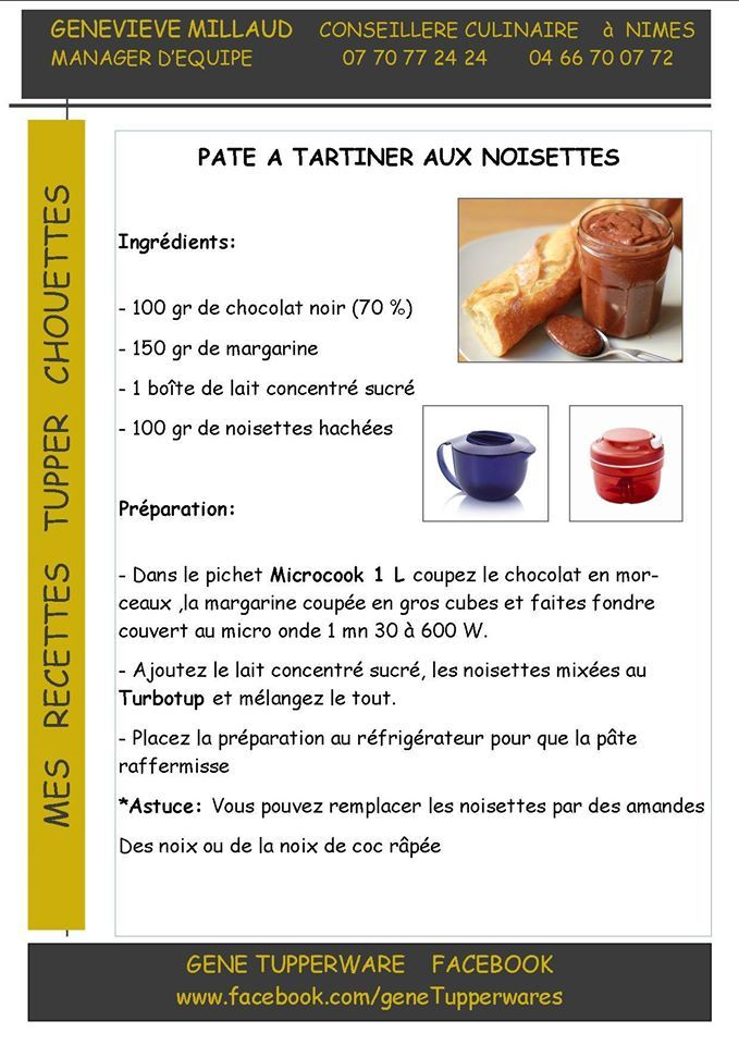 542 best images about tupper recetas on pinterest pastel recetas and mousse - Micro minute tupperware recette ...