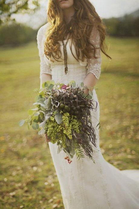 Abiti da sposa hippie chic