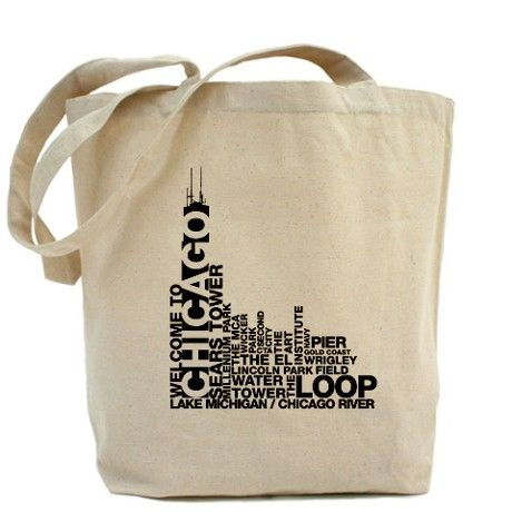 Welcome To Chicago - Attractions Tote Bag
