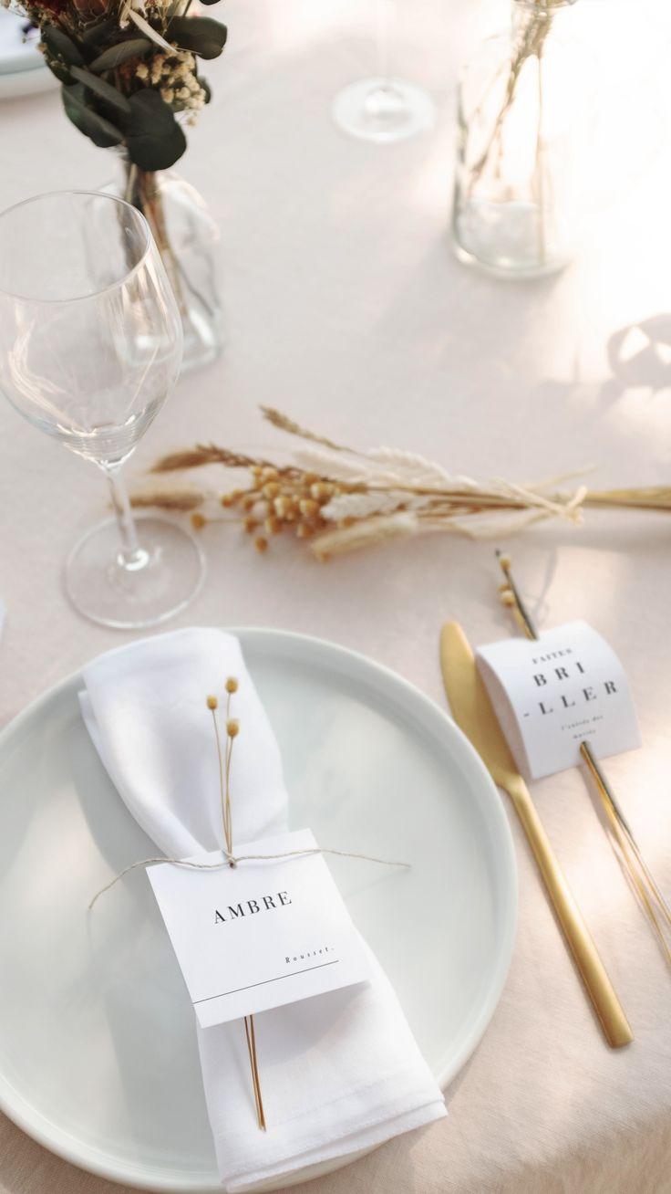Table de mariage Cotton bird x Rosa Cadaqués