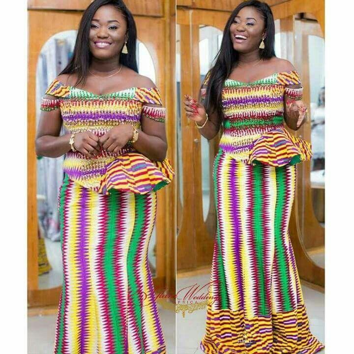 Dresses styles in ghana