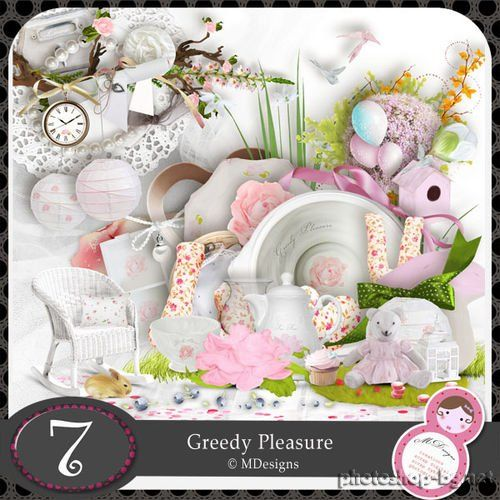 Mild baby scrap kit - Greedy Pleasure
