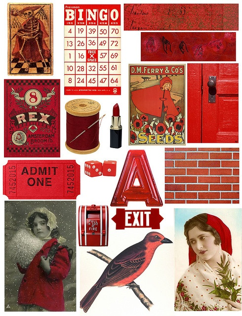 free to use collage sheets....bunches of them!Collage Sheets Bunch, Red Vintage, Red Collage, Art, Red Free, Free Collage, Free Printables, Crafts, Vintage Image