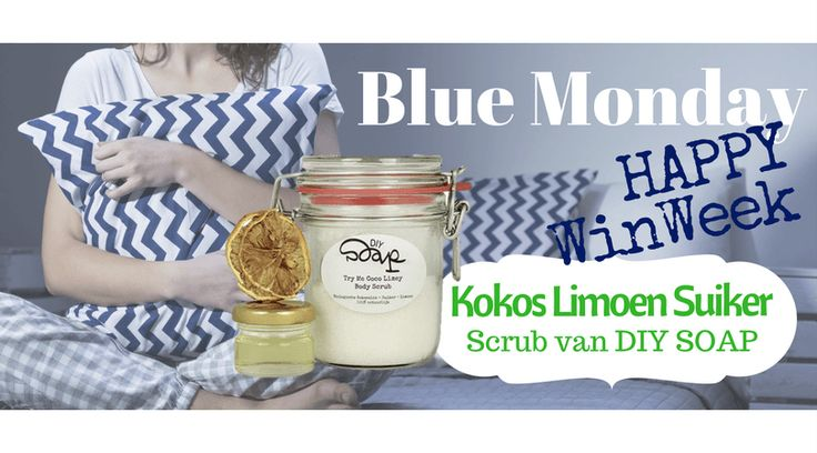 Happy Winweek #5 DIY Soap Kokos Limoen Suiker Scrub