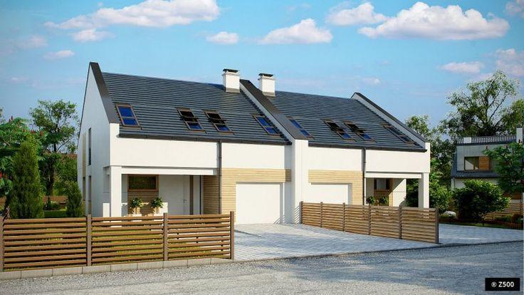 Zb13 to wyjątkowy piętrowy dom z garażem jednostanowiskowym w bryle. Prosta, atrakcyjna bryła z bogatym programem użytkowym została przykryta dachem dwuspadowym. Wykończenie elewacji nadaje mu niepowtarzalnego charakteru.