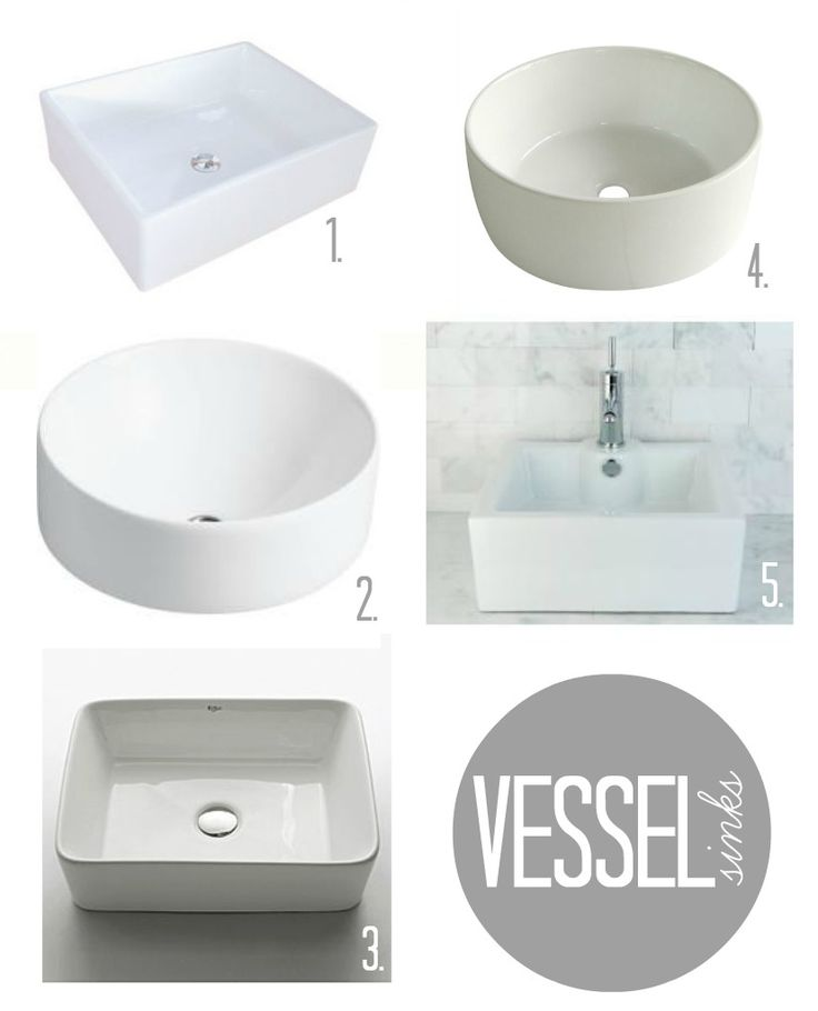 Vessel sink options.