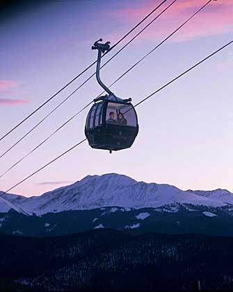 Ride in a Gondola.  DONE-Gondola Lifts. Ski trip Steamboat Springs, Colorado- 89'?