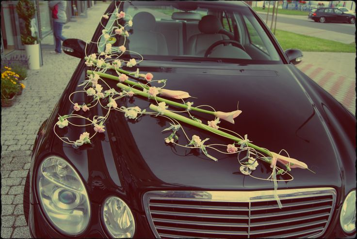 our car wedding decoration