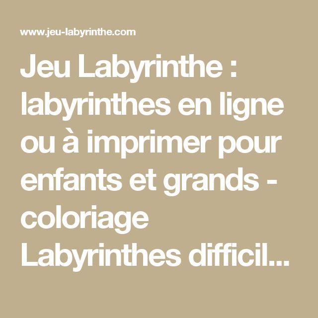 1000 id es sur le th me coloriages en ligne sur pinterest labyrinthe impr - Jeu de peinture en ligne ...