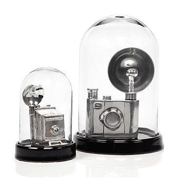 <3: Bell Jars, Chic Decor, Old Camera, Belle Jars, Idea, Bridal Bouquets, Vintage Camera, Glasses Belle, Decor Accessories