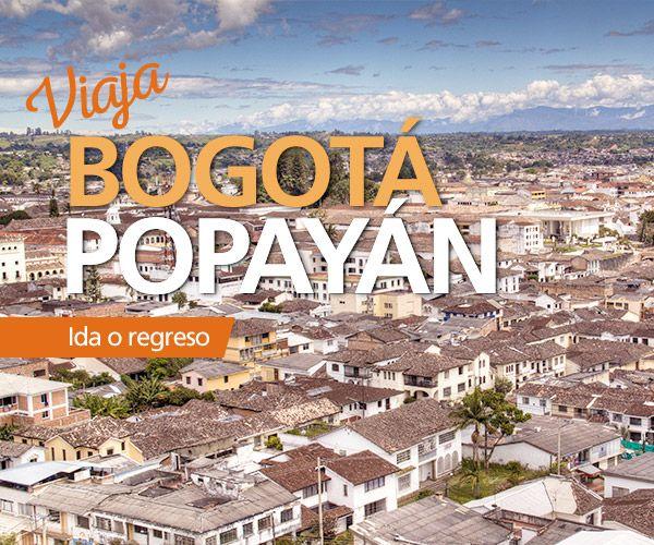 Viaja directo con #EasyFly #Bogota #Popayan con 1 vuelo diario durante toda la semana. Haz tu compra en www.easyfly.com.co con las mejores tarifas de EasyFly, teniendo como llegada o salida el Aeropuerto Guillermo León Valencia en Popayán