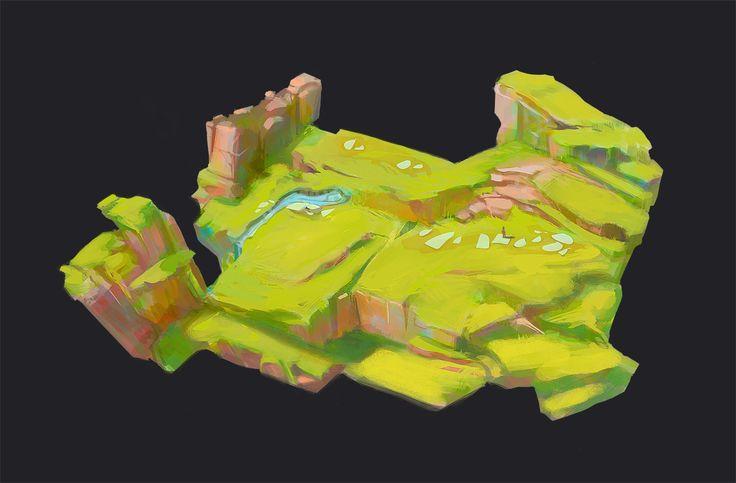 game concept landscape - Google 검색