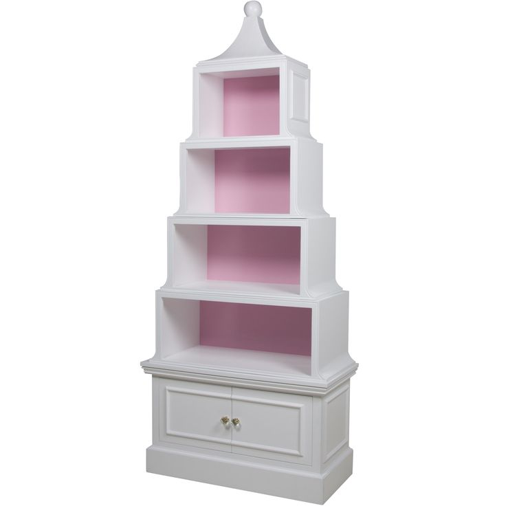 Buy Pagoda Bookcase by AFK Furniture - Made-to-Order designer Furniture from Dering Hall's collection of Chinoiserie Traditional Transitional Bookcases & Étageres.