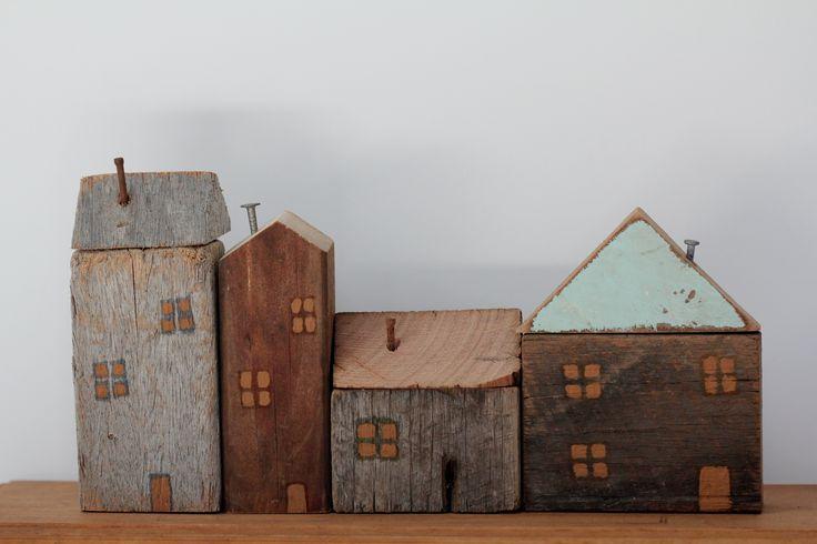 Wooden village.