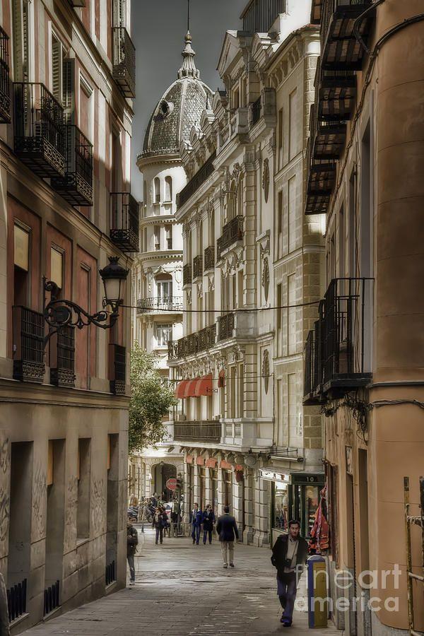 Madrid Streets Spain