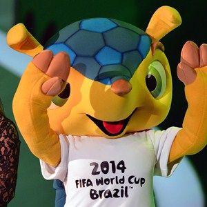 Fuleco mascot #Brasil2014