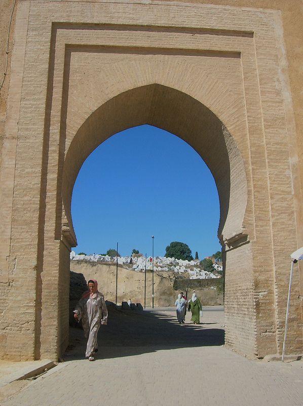 Old Medina Walls, Fes, Morocco