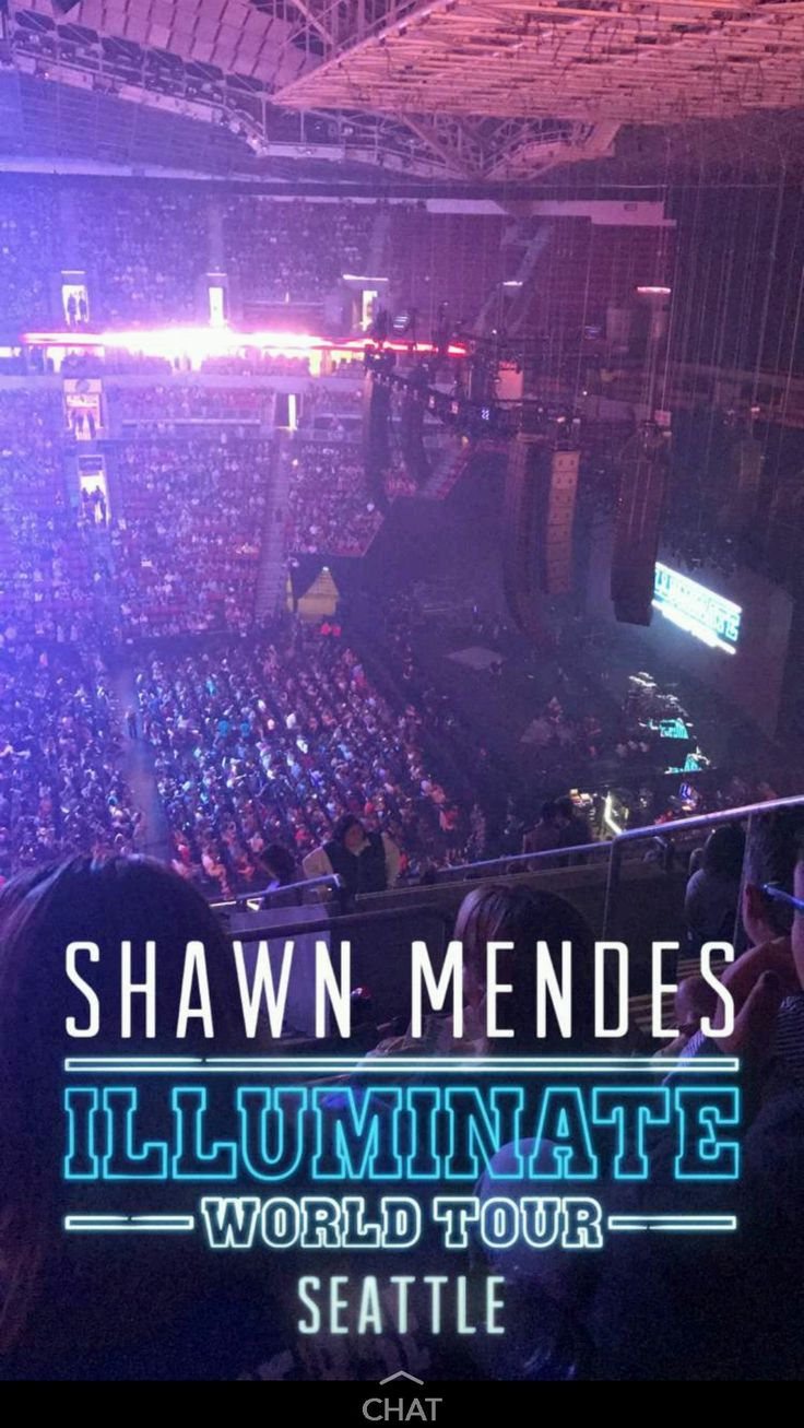 seeing shawn mendes illuminate signs and tour pictures make my heart race