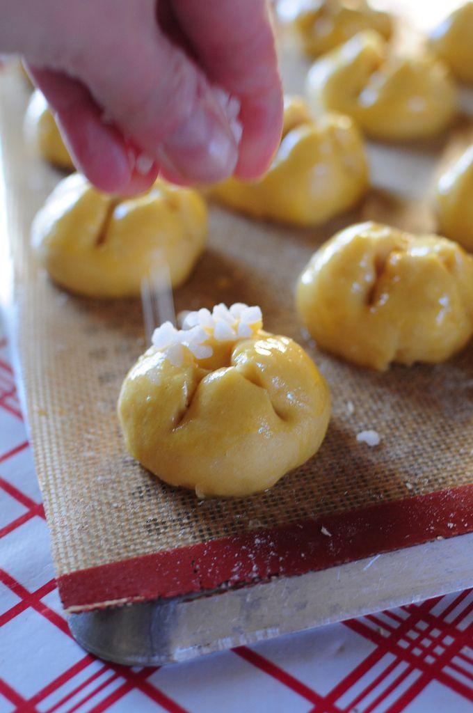 Petites briochettes au sucre de Christophe Felder