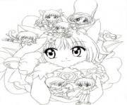 Coloriage fairy tail manga 03