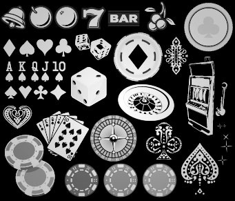 Real gamblers aren't that different from cliff jumpers & daredevil dirt bikers - the thrill of risk is the real jackpot. In Gambling, we collected our favorite Las Vegas flavored imagery in vector form: chips, cherries & roulette wheels.