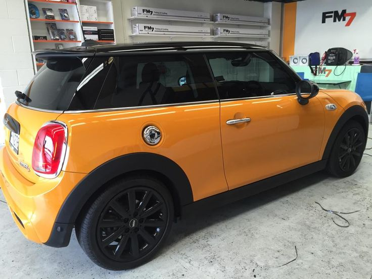 Mini with #Topclass 35% #cartinting #windowtinting