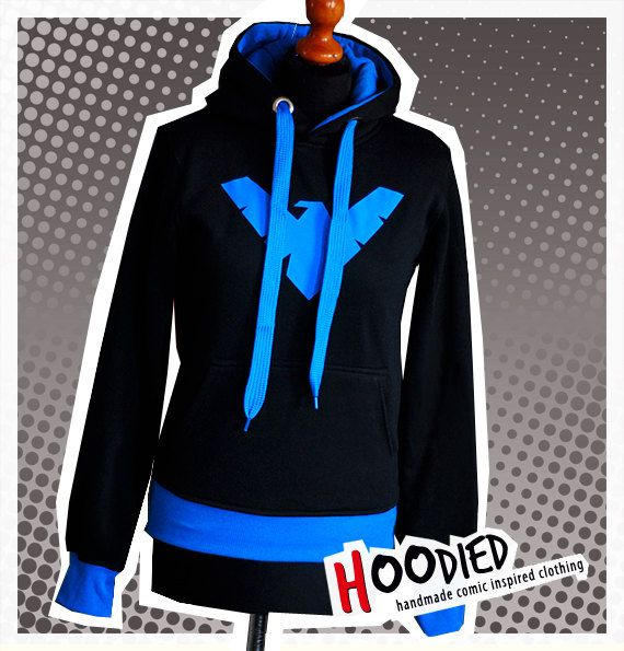 ANOTHER ONE, @daniellestotler ! DICK GRAYSON nightwing young justice hoodie XL ready to by hoodied