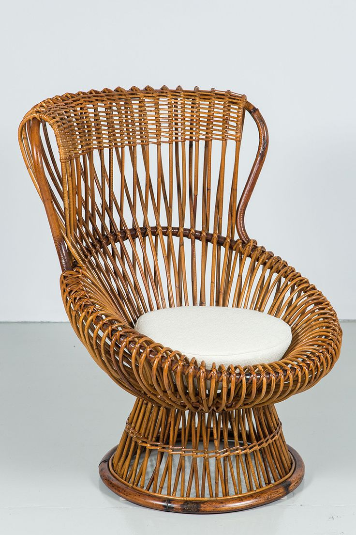 Mid century modern chairs - Margherita Chair By Franco Albini