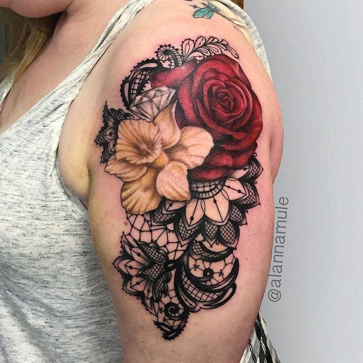 FYeahTattoos.com — Artist: Alanna Mule Toronto, On. Canada IG:...