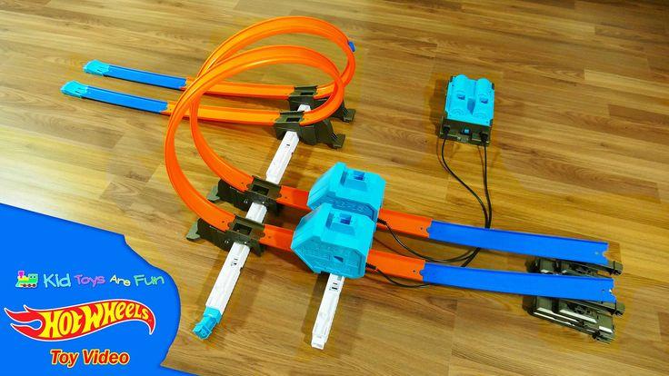Hot Wheels Power Booster Kit Track Builder System - Hot Wheels Toys - Ki...