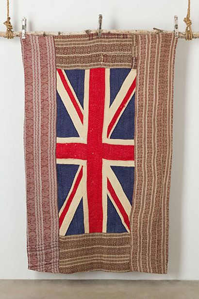 Flag Blanket, Portrait #anthropologie