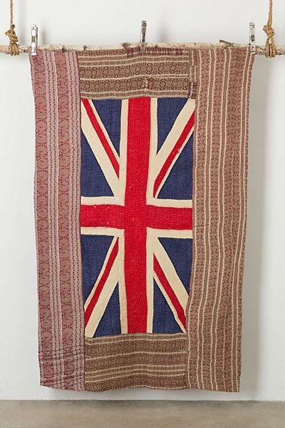 Flag Blanket, Portrait #anthropologie