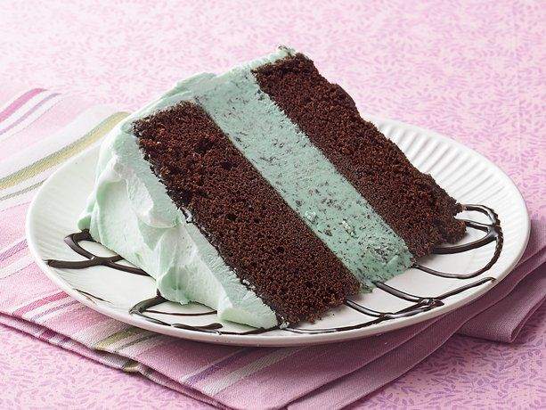 Mint chocolate ice cream cake, Taking chocolate cake to a new level. Looks divine!