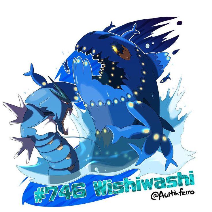 Shiny Dex Drawing #6 Wishiwashi are so terrifyingly intimidating in a group even Gyarados fear them! I really hope I blended the blue right, a lot of blue xD haha Next: Something Christmasy (I should plan these better) #pokemon #pokemondrawing #pokemonart #pokemonsunandmoon #pokemonsun #pokemonmoon #fish #wishiwashi #gyarados #shiny #blue #scary #water #ocean #drawing #painting #digitaldrawing #digitalart #digital