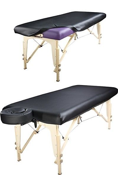Massage Tables and Chairs: Massage Table Cover Universal Fabric Fitted Pu Vinyl Leather Protection New -> BUY IT NOW ONLY: $80.21 on eBay!